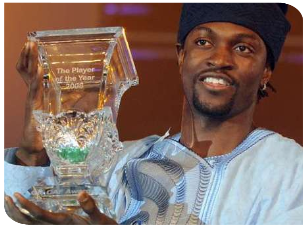 Adebayor ballon d'or africain